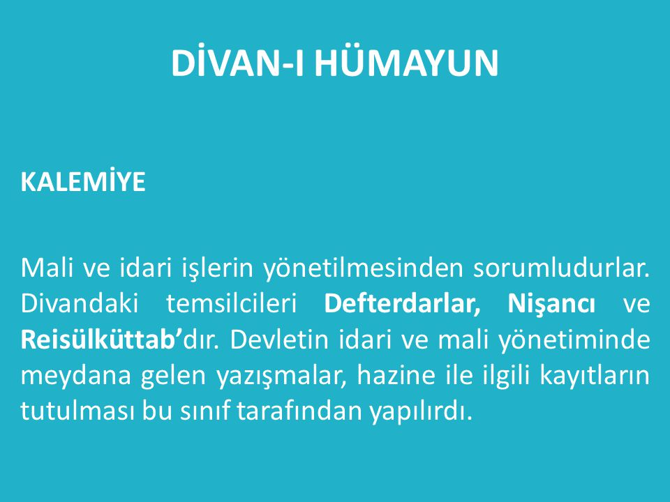 DİVAN-I HÜMAYUN