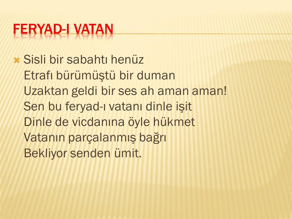 FERYAD-I VATAN