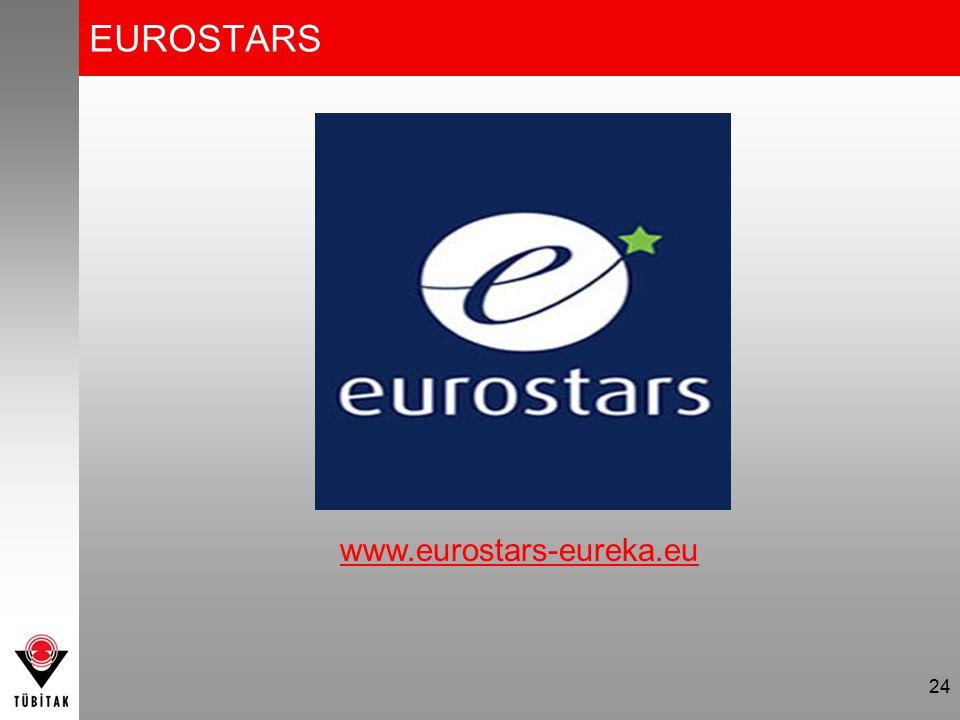 EUROSTARS www.eurostars-eureka.eu