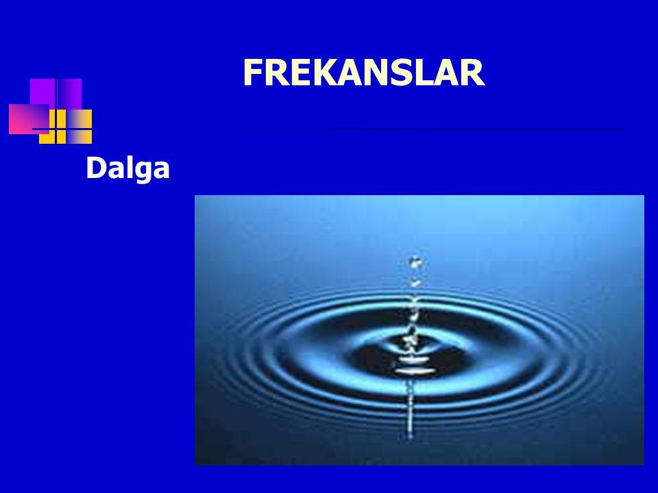 FREKANSLAR Dalga