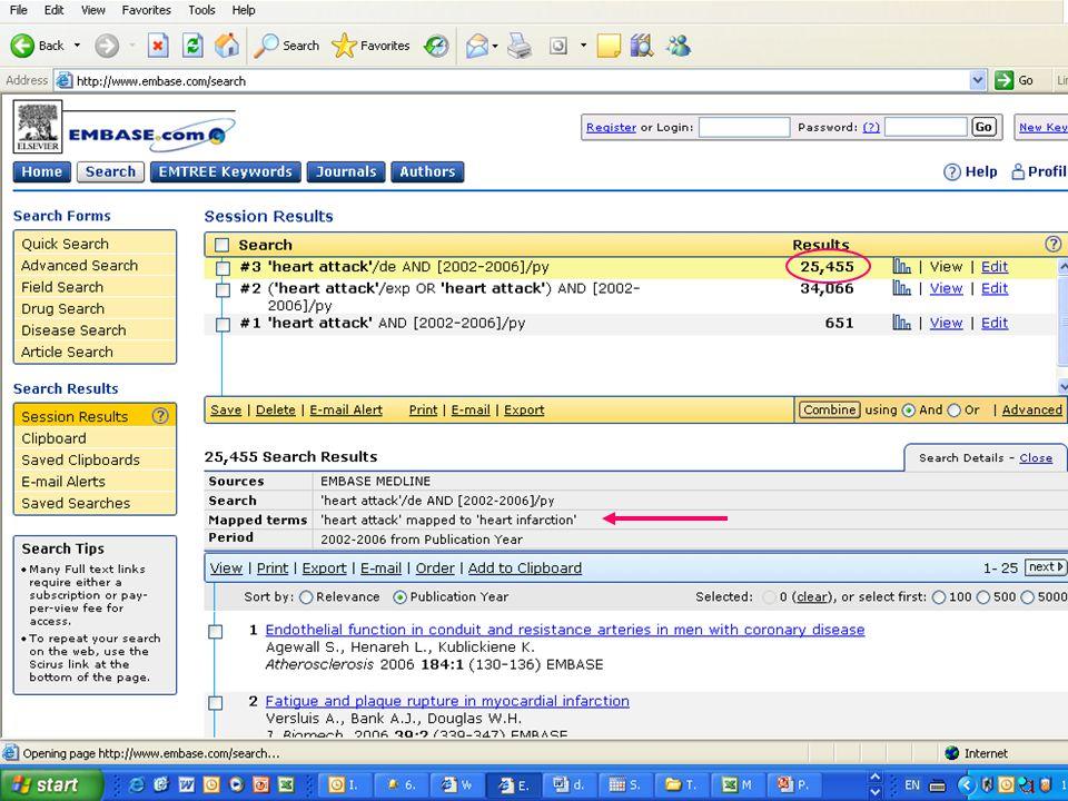 EMBASE.com February 2006