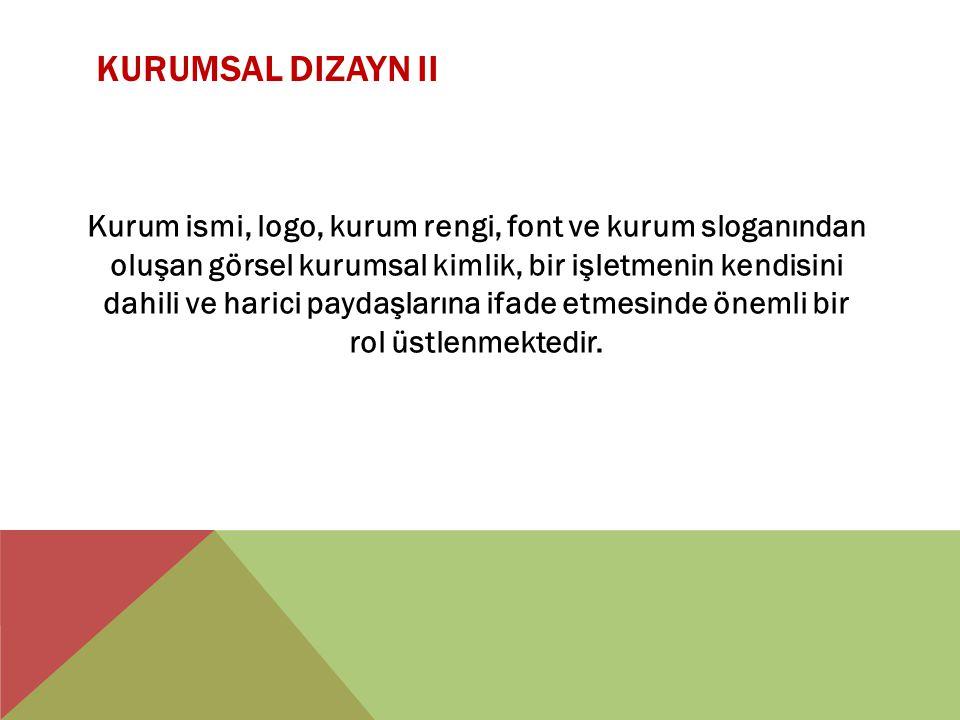 Kurumsal Dizayn II