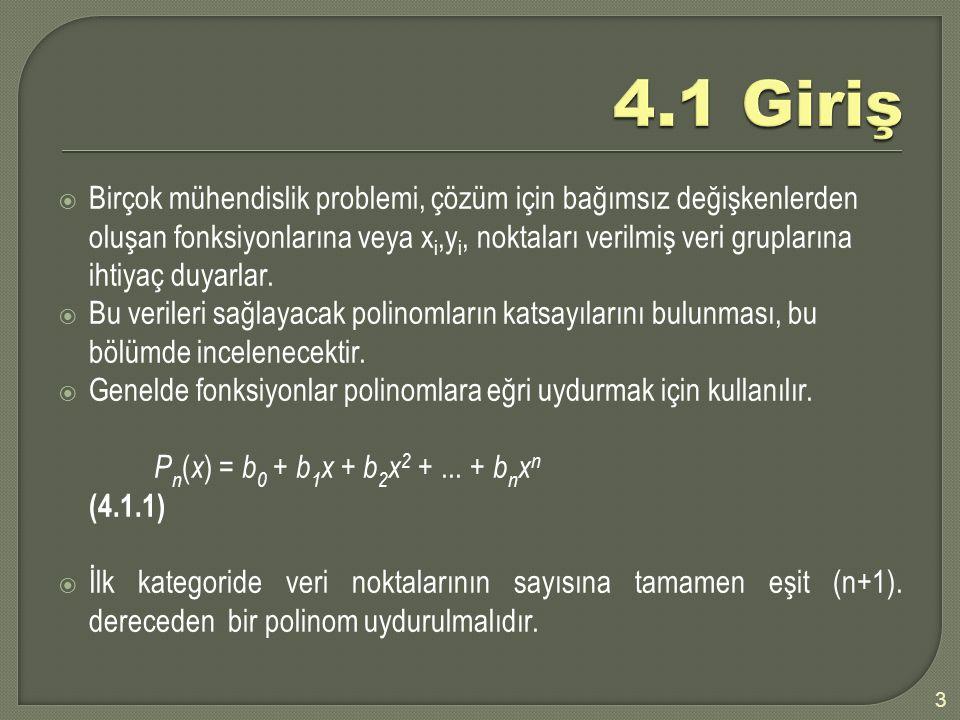 4.1 Giriş