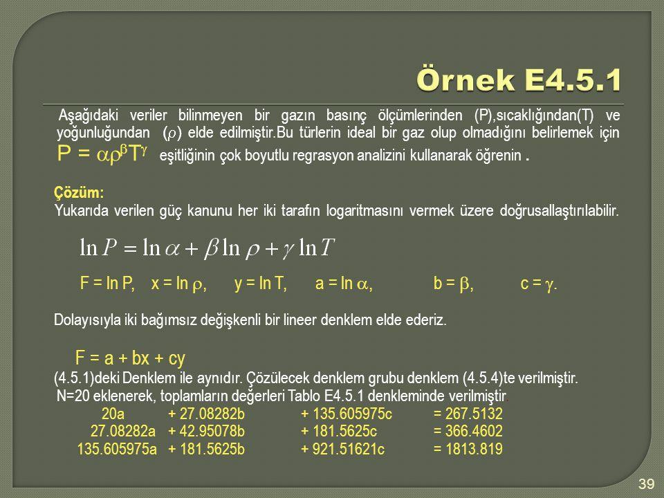 Örnek E4.5.1