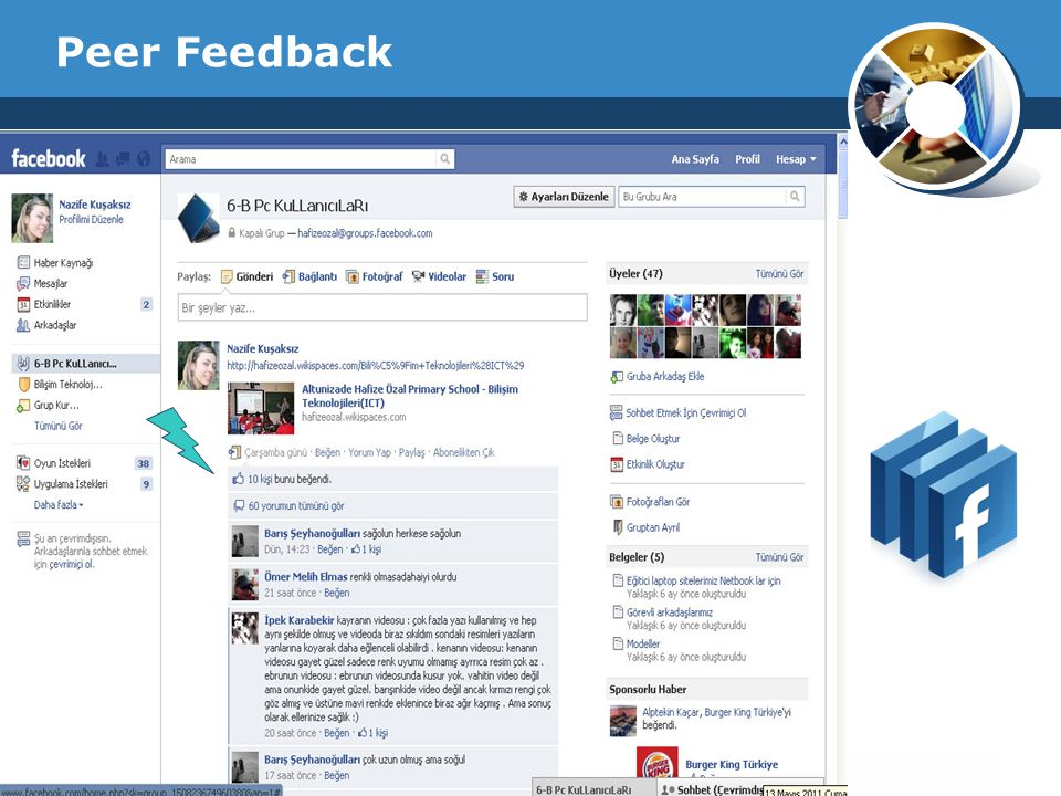 Peer Feedback Company Logo
