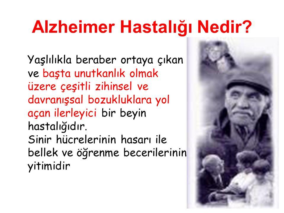 Alzheimer Hastalığı Nedir