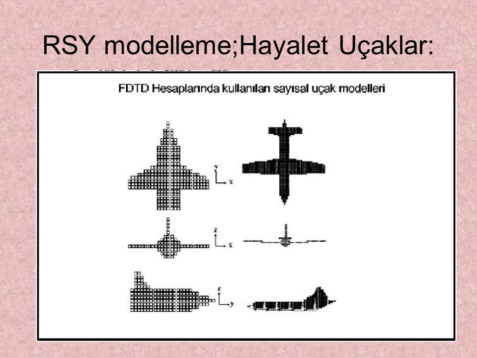 RSY modelleme;Hayalet Uçaklar: