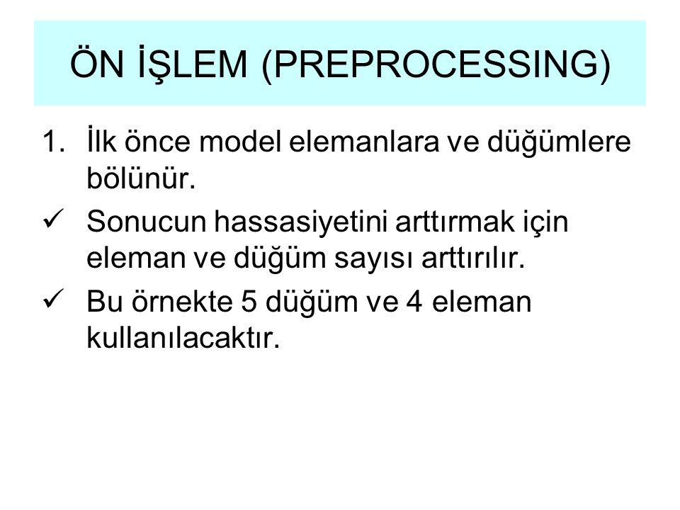 ÖN İŞLEM (PREPROCESSING)