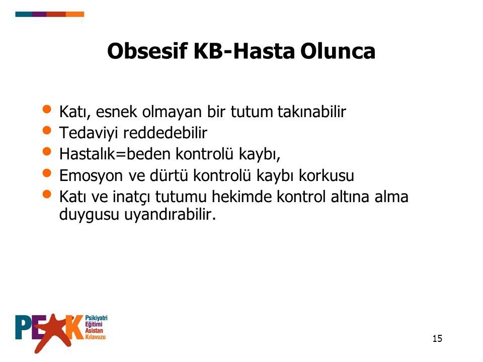 Obsesif KB-Hasta Olunca
