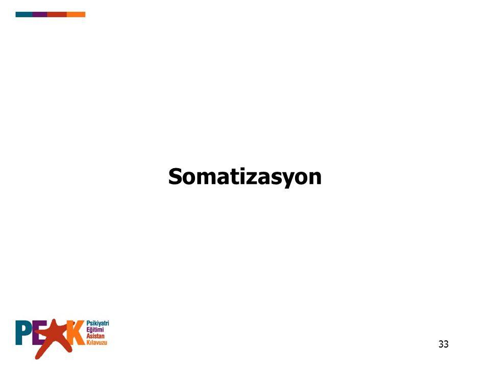 Somatizasyon