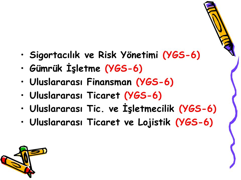 Sigortacılık ve Risk Yönetimi (YGS-6)