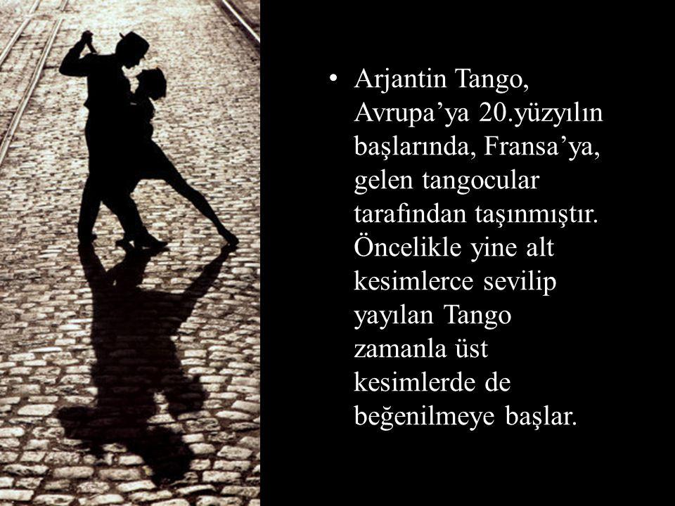 Arjantin Tango, Avrupa'ya 20