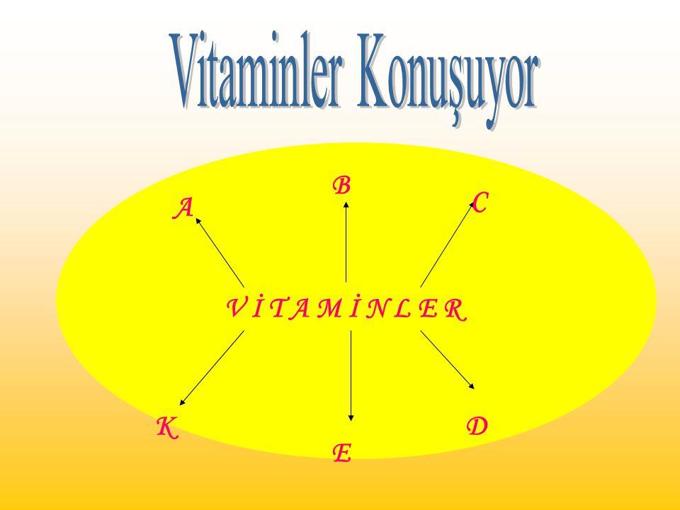 Vitaminler Konuşuyor V İ T A M İ N L E R A B C K E D