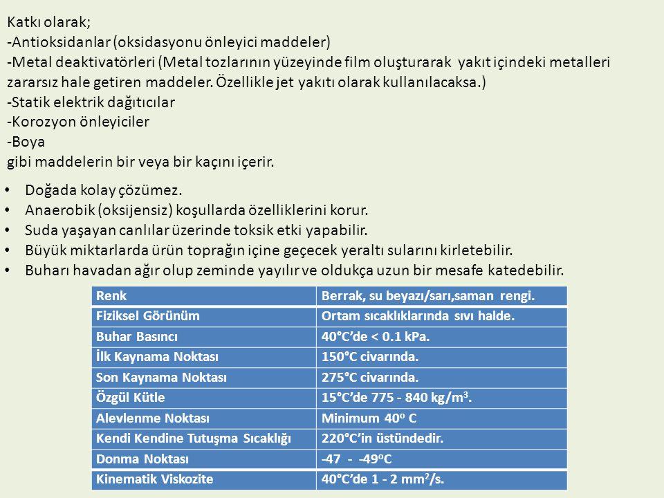 Antioksidanlar (oksidasyonu önleyici maddeler)