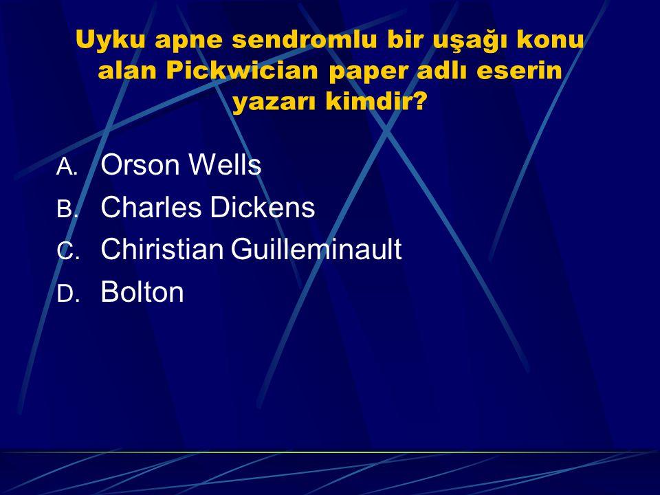 Chiristian Guilleminault Bolton