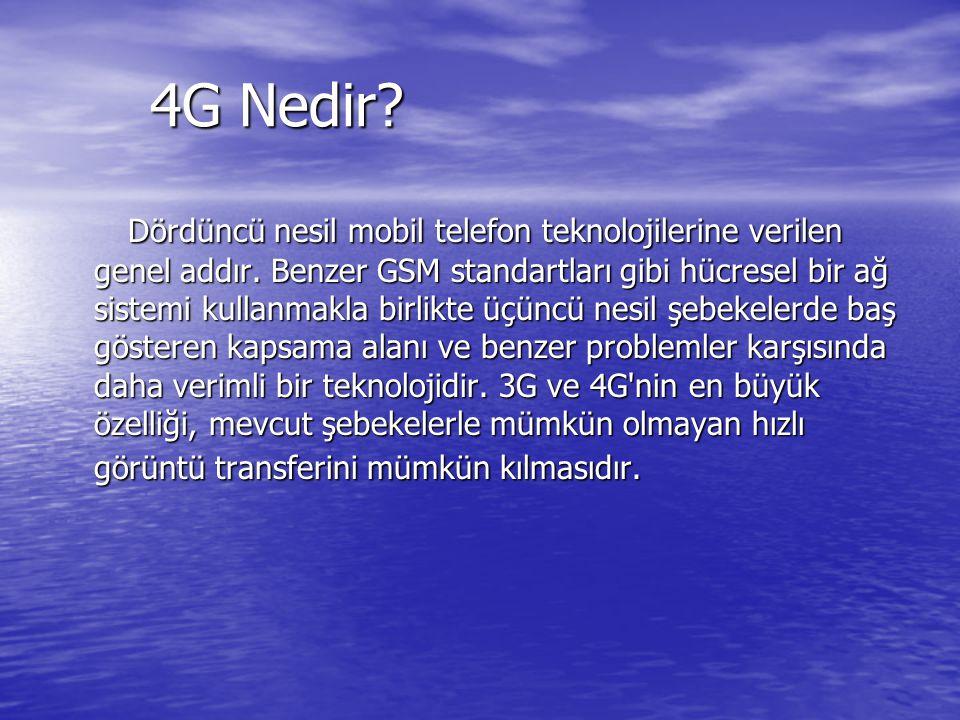 4G Nedir