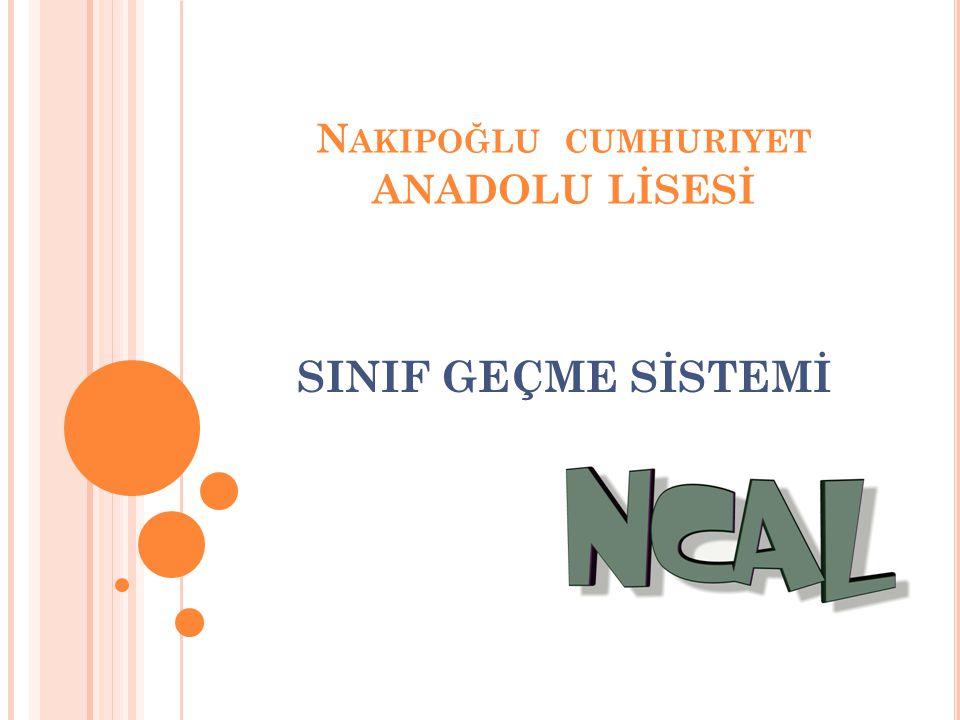 Nakipoğlu cumhuriyet ANADOLU LİSESİ