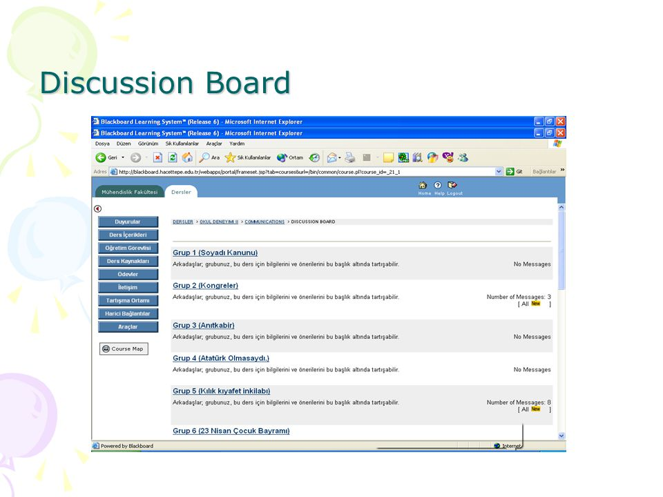 Discussion Board
