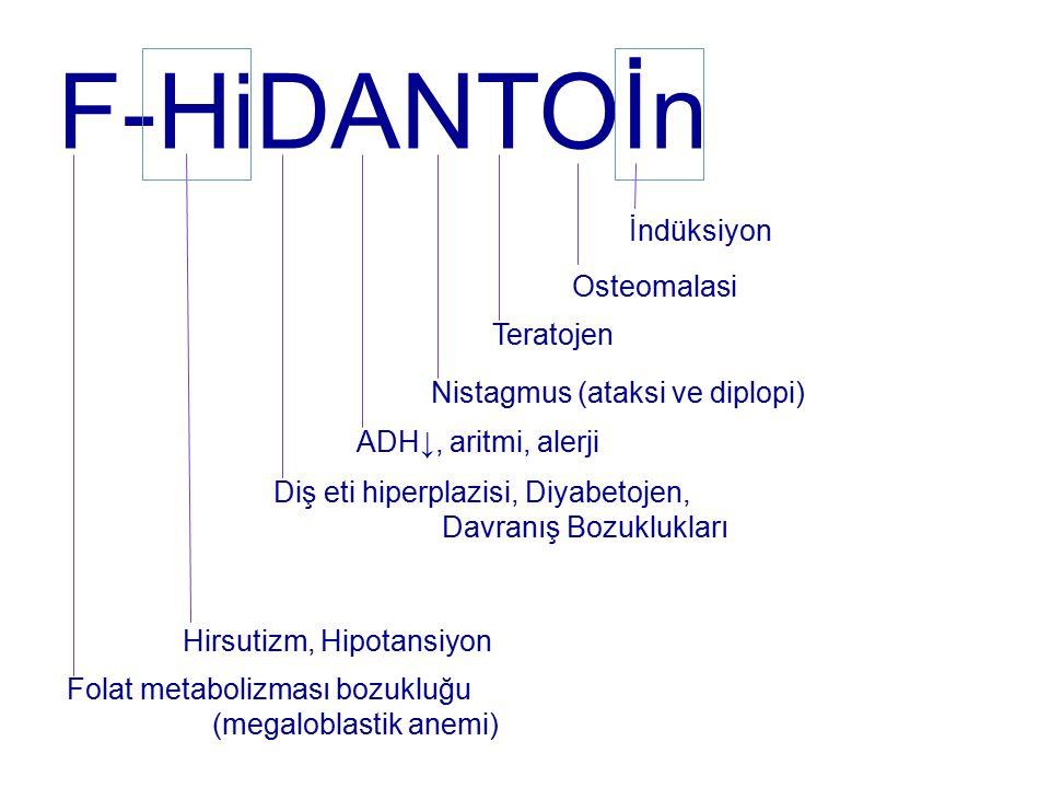 F-HiDANTOİn İndüksiyon Osteomalasi Teratojen
