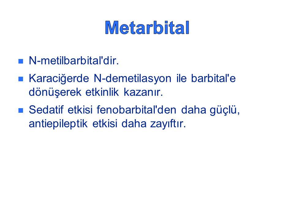 Metarbital N-metilbarbital dir.