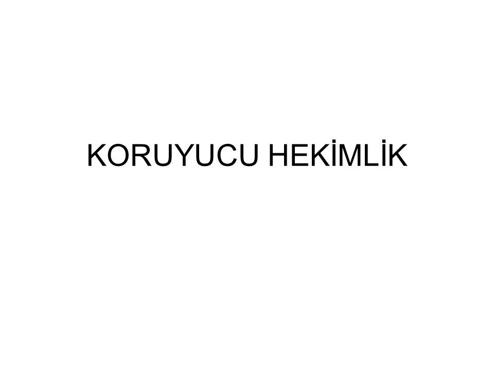 KORUYUCU HEKİMLİK