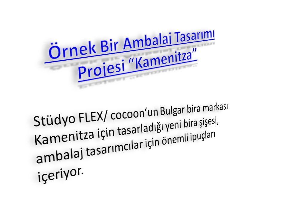 Örnek Bir Ambalaj Tasarımı Projesi Kamenitza
