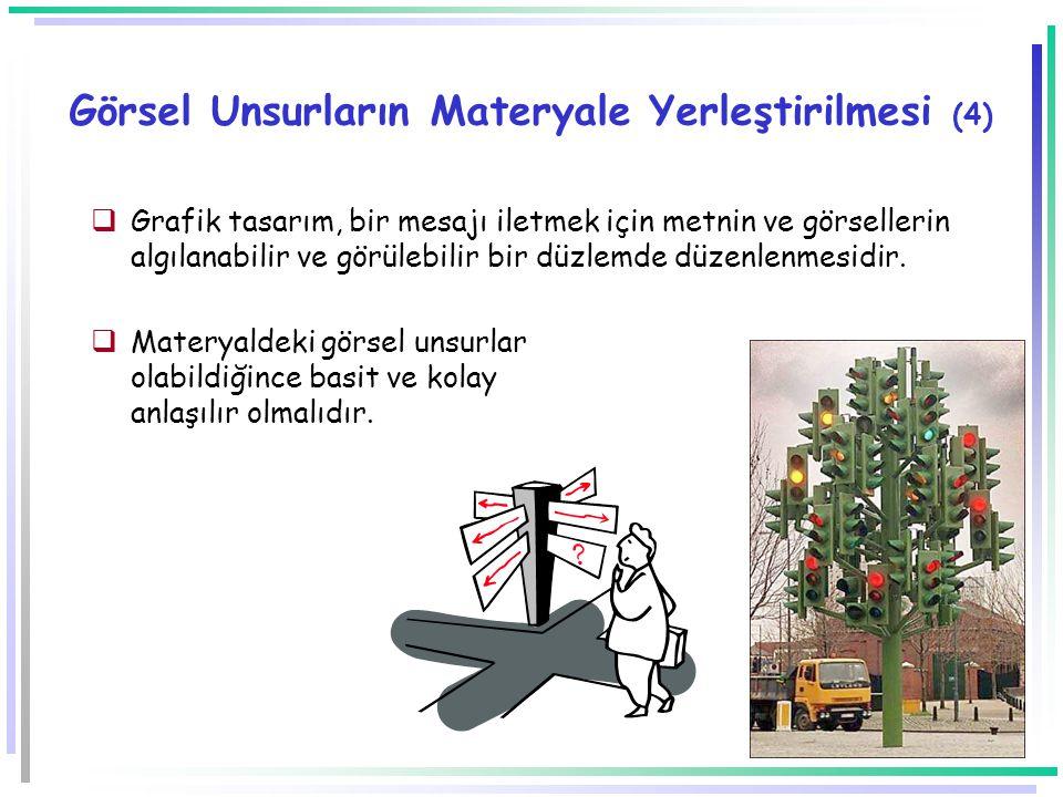 Görsel Unsurların Materyale Yerleştirilmesi (4)