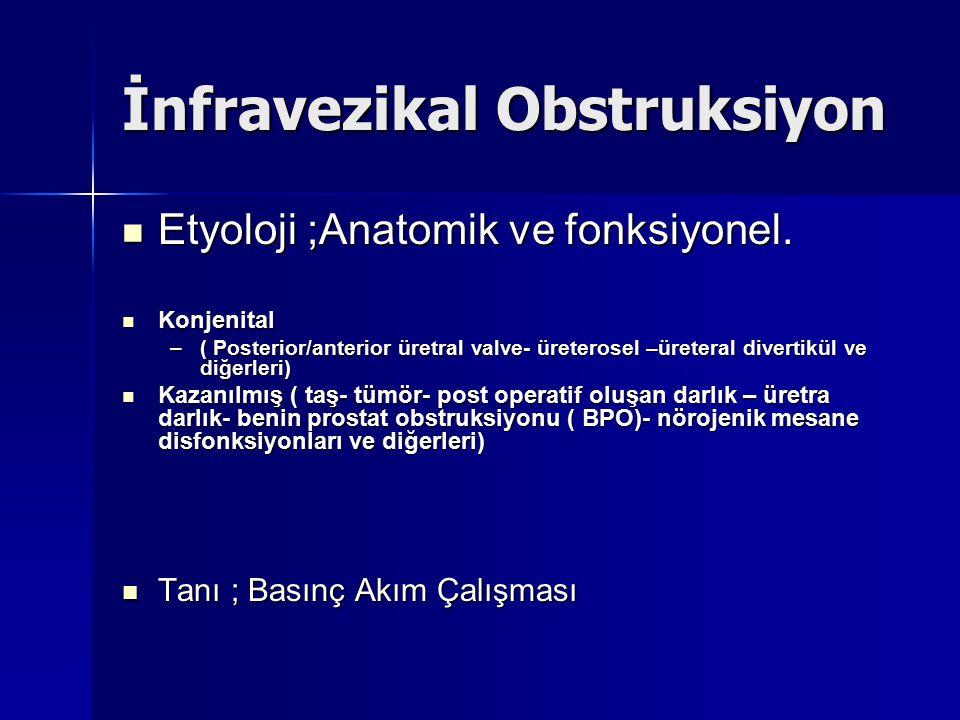 İnfravezikal Obstruksiyon