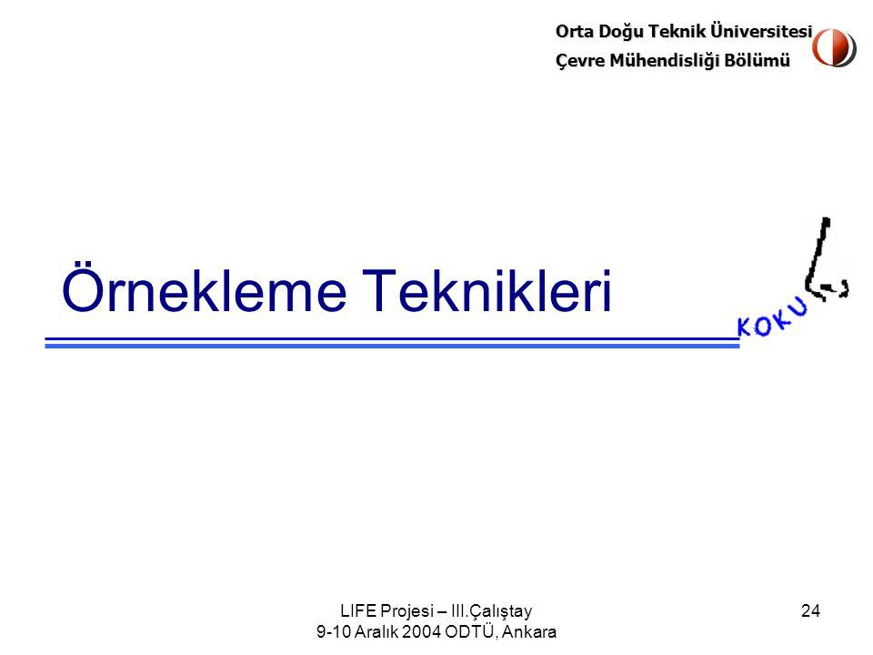 LIFE Projesi – III.Çalıştay