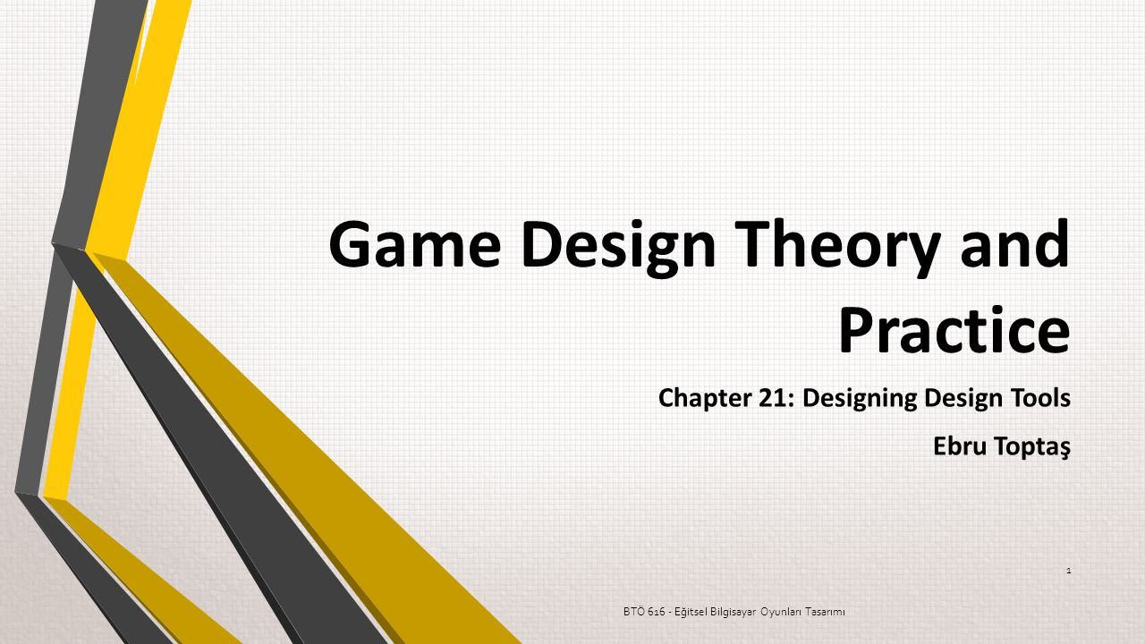 Game Design Theory and Practice