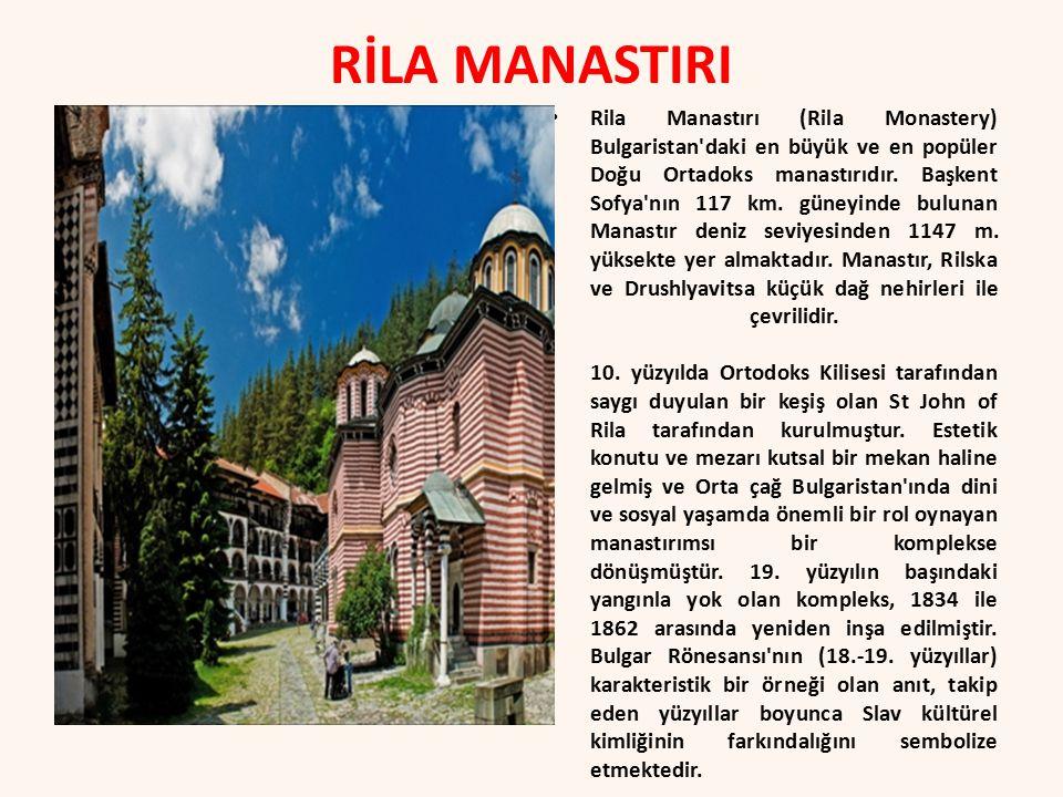 RİLA MANASTIRI