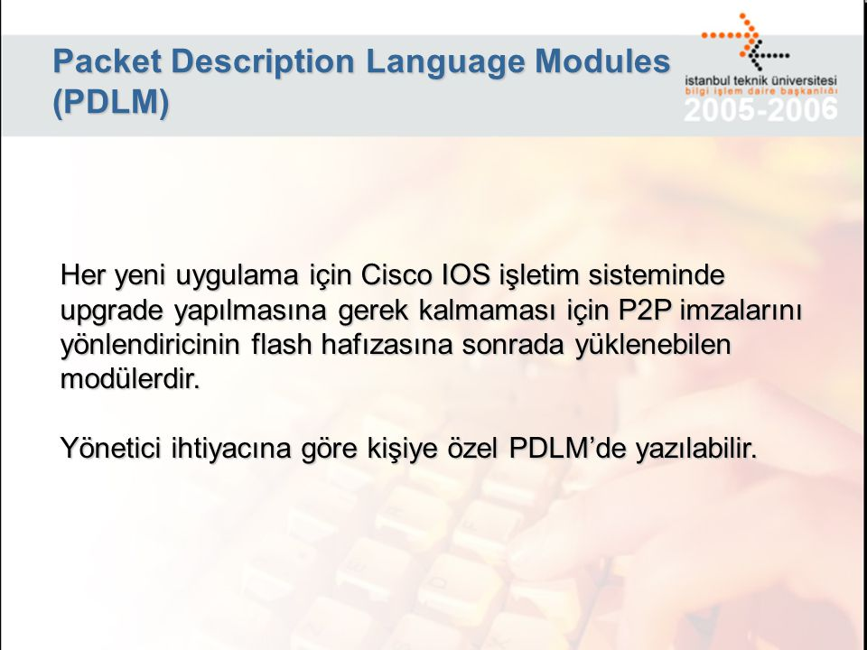 Packet Description Language Modules (PDLM)