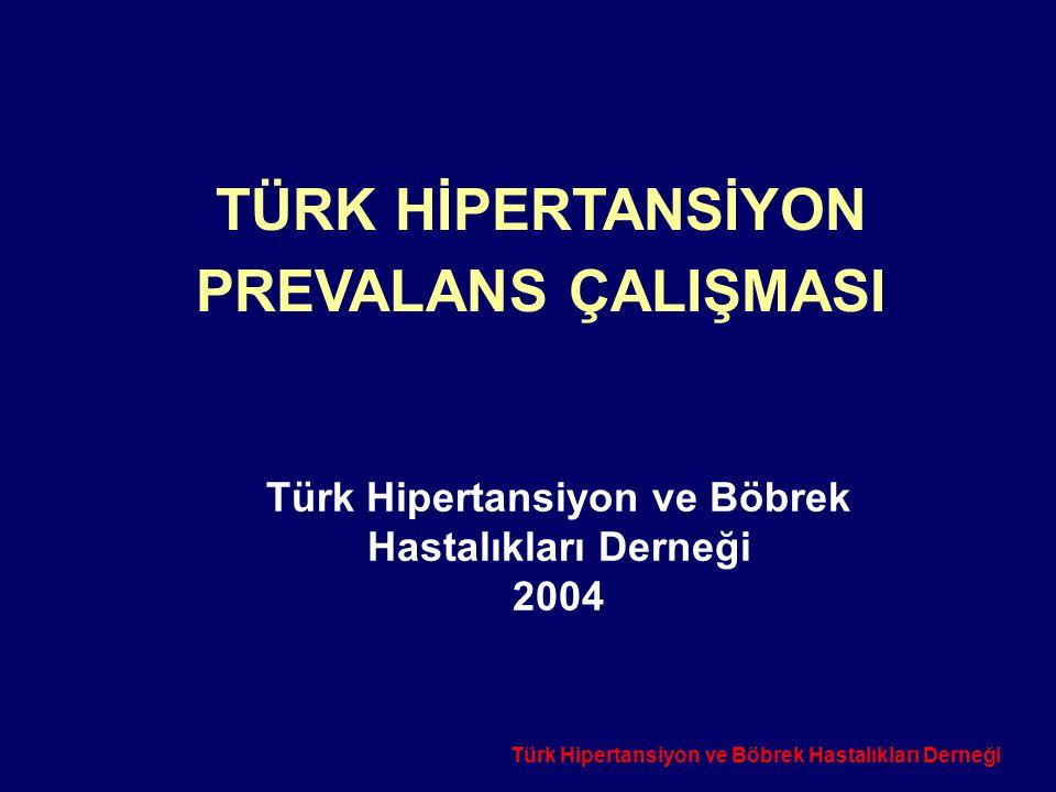 Türk Hipertansiyon ve Böbrek Hastalıkları Derneği 2004