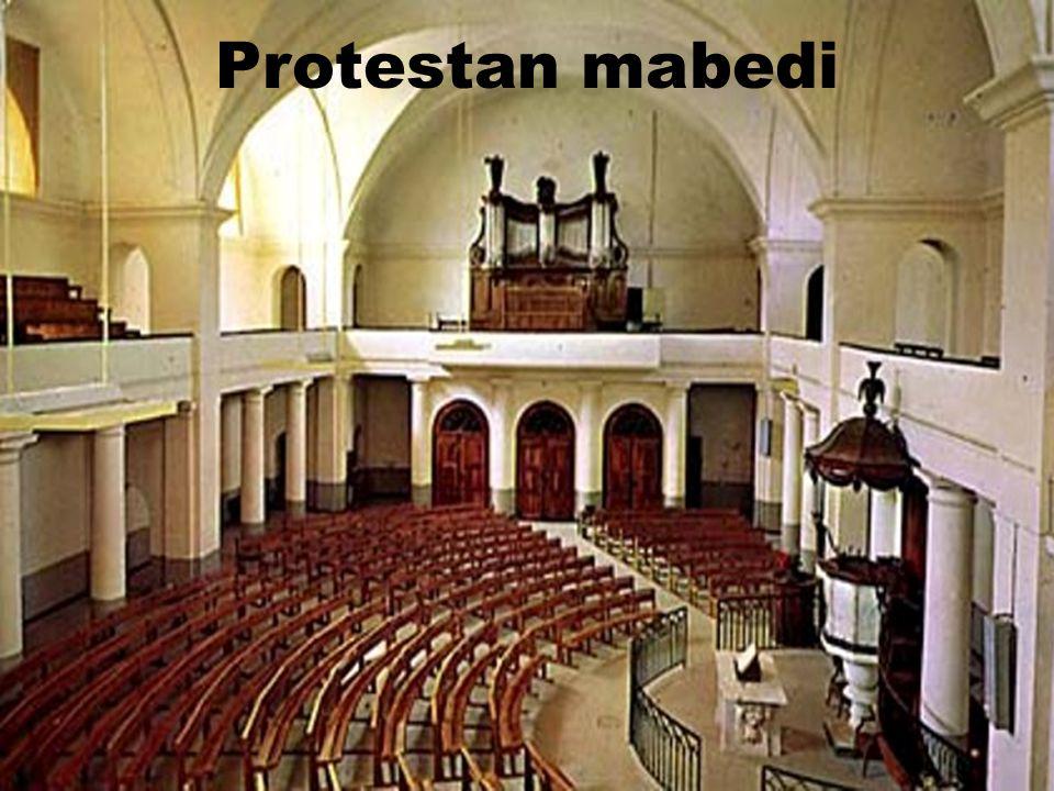 Protestan mabedi