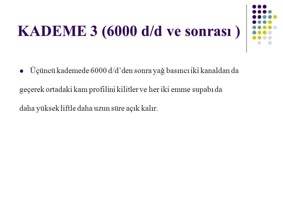 KADEME 3 (6000 d/d ve sonrası )