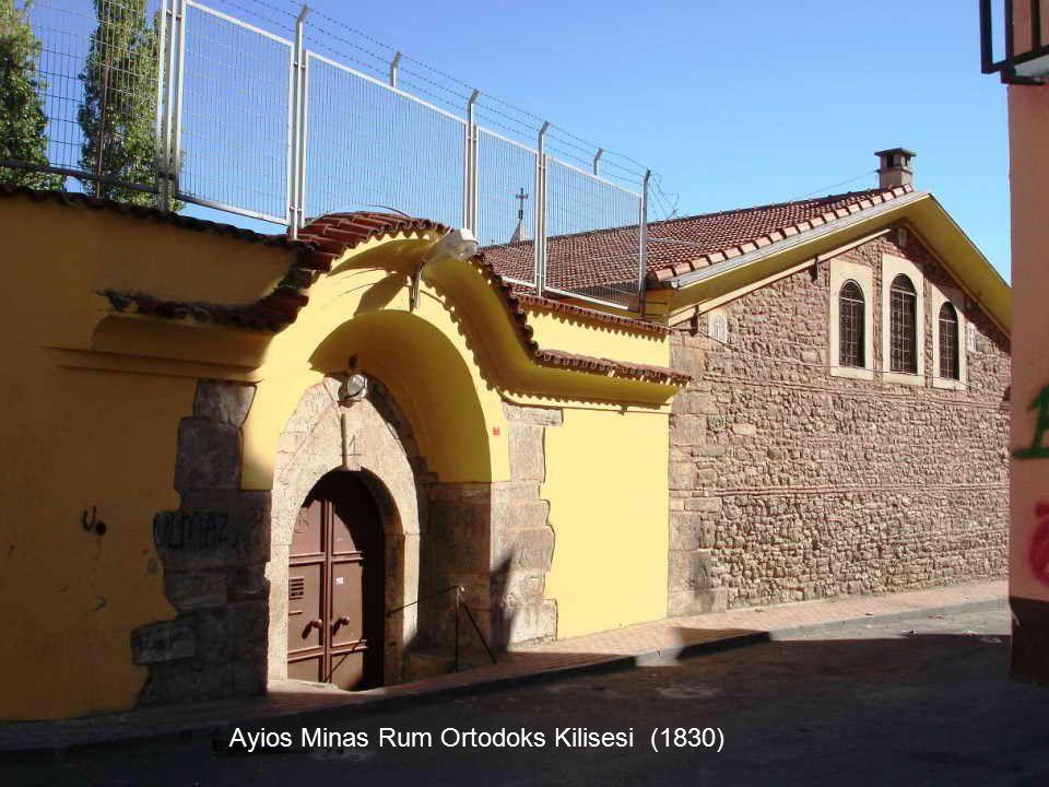 Ayios Minas Rum Ortodoks Kilisesi (1830)