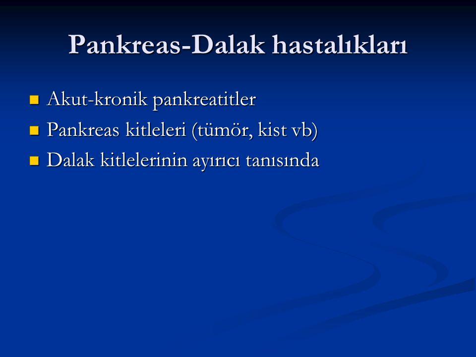 Pankreas-Dalak hastalıkları