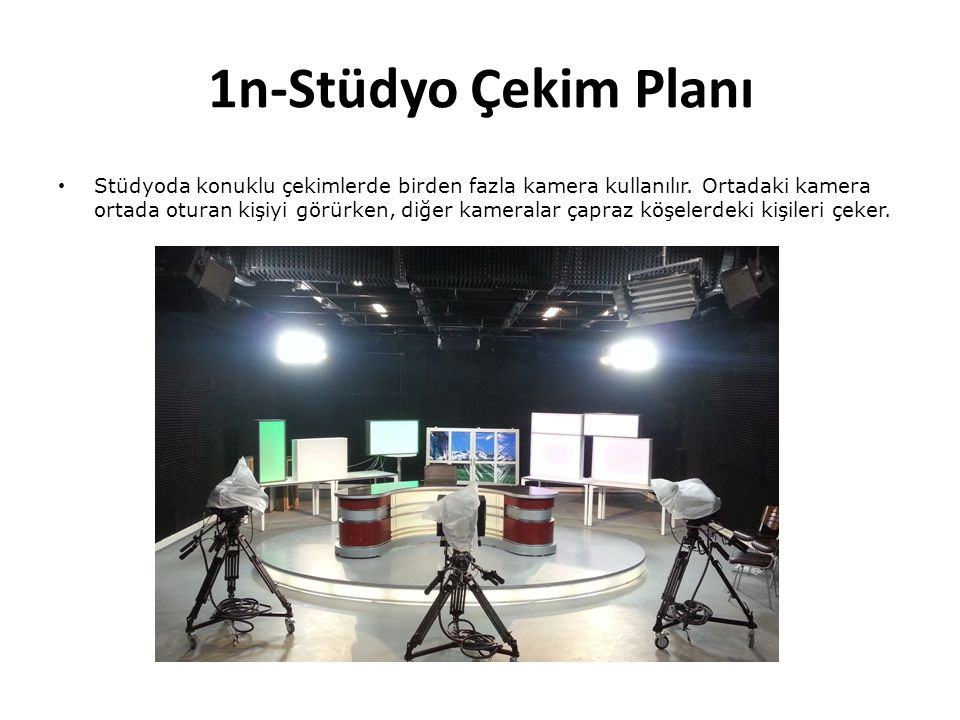 1n-Stüdyo Çekim Planı