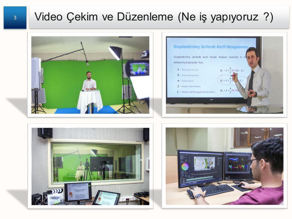 Video Çekim ve Düzenleme (Ne iş yapıyoruz )
