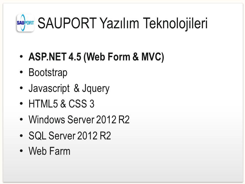 SAUPORT Yazılım Teknolojileri