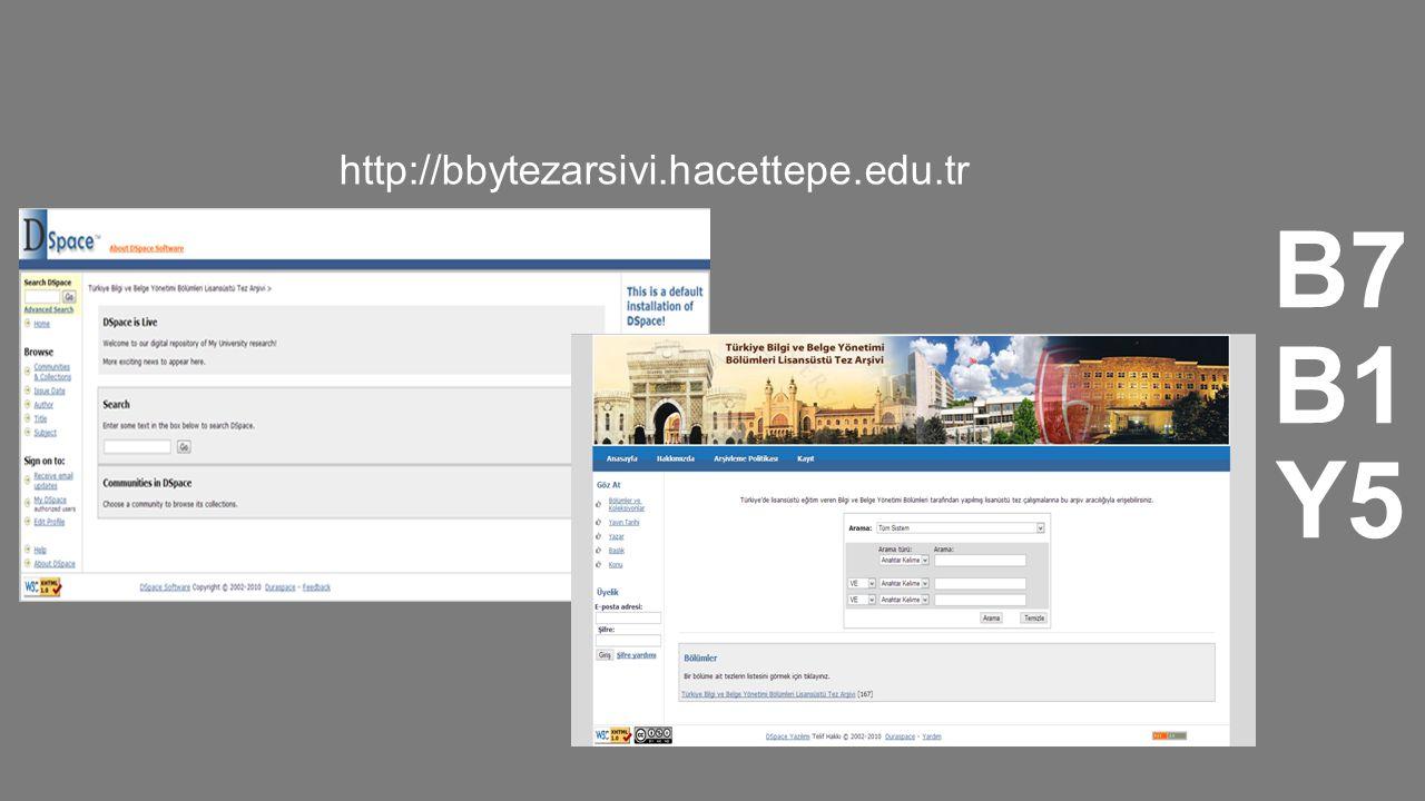 http://bbytezarsivi.hacettepe.edu.tr B7B1Y5