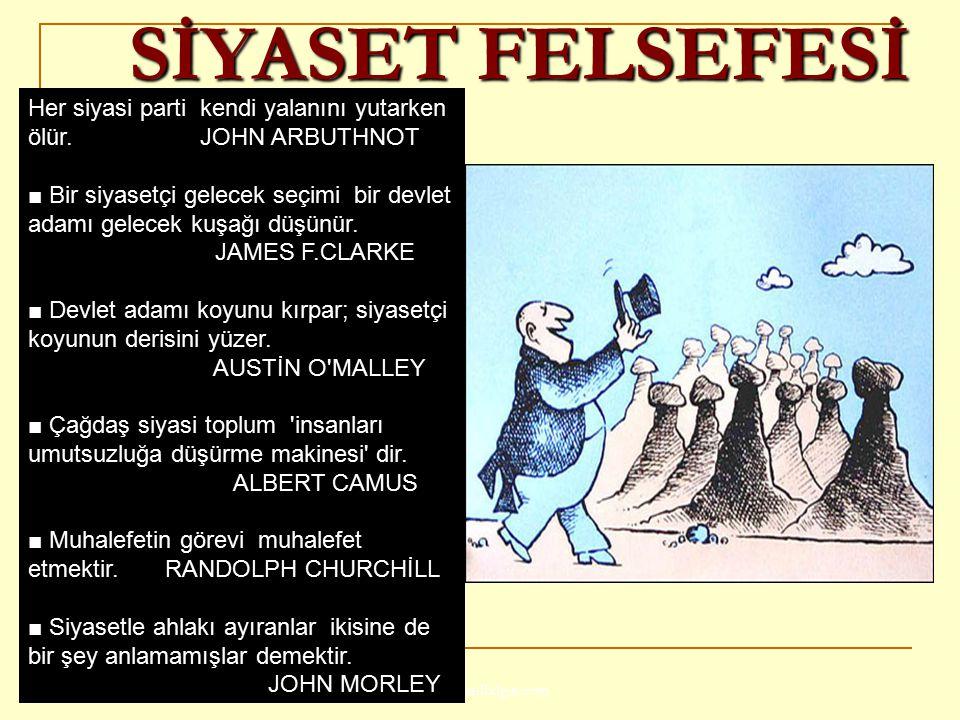 SİYASET FELSEFESİ