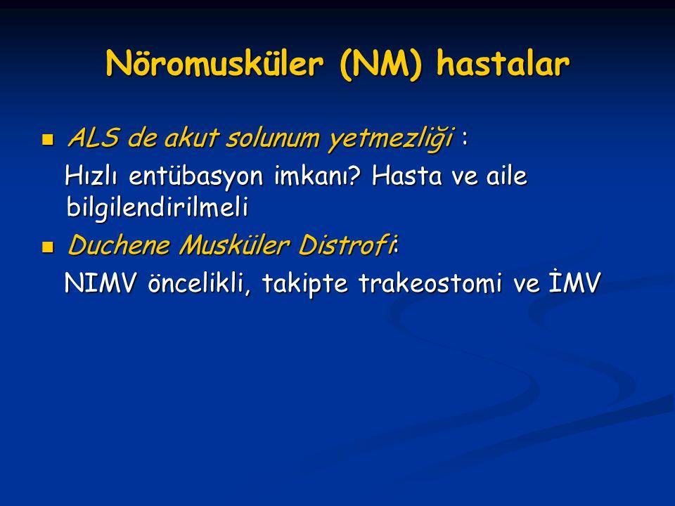 Nöromusküler (NM) hastalar