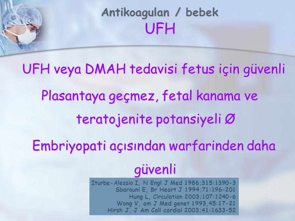 Antikoagulan / bebek UFH