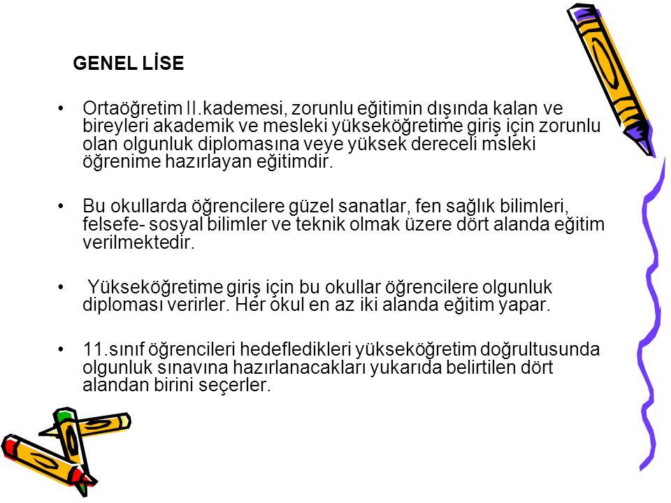 GENEL LİSE