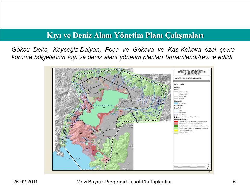 Kıyı ve Deniz Alanı Yönetim Planı Çalışmaları