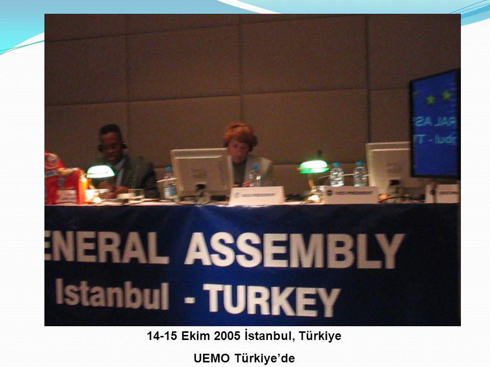 14-15 Ekim 2005 İstanbul, Türkiye