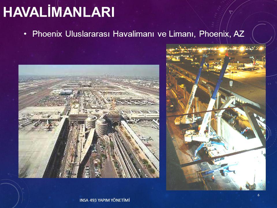 HAVALİMANLARI Phoenix Uluslararası Havalimanı ve Limanı, Phoenix, AZ