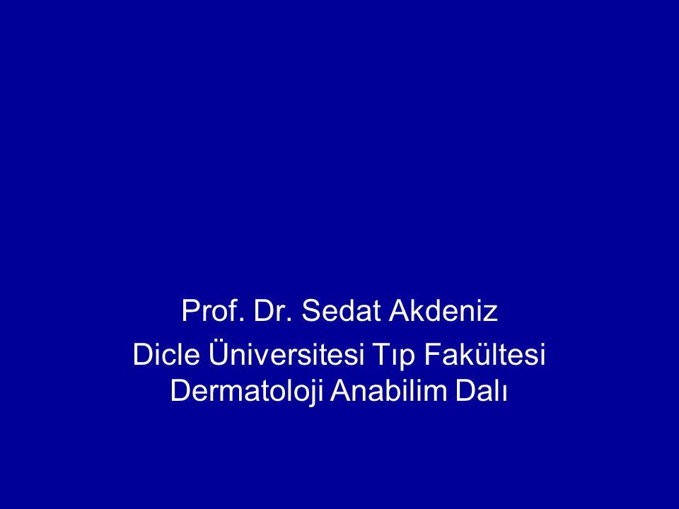 Dicle Üniversitesi Tıp Fakültesi Dermatoloji Anabilim Dalı