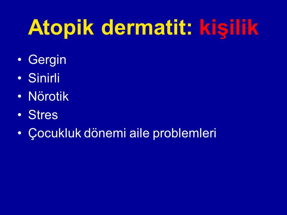 Atopik dermatit: kişilik